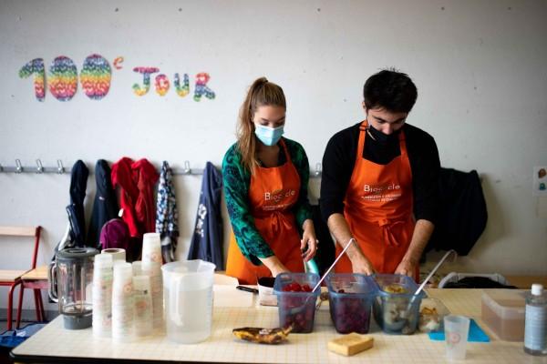 Sensibilisation au gaspillage alimentaire dans les écoles de Fontenay-sous-bois